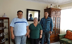 A homestay family for students who are taking a Spanish course in Cuenca in one of Yanapuma's volunteer projects