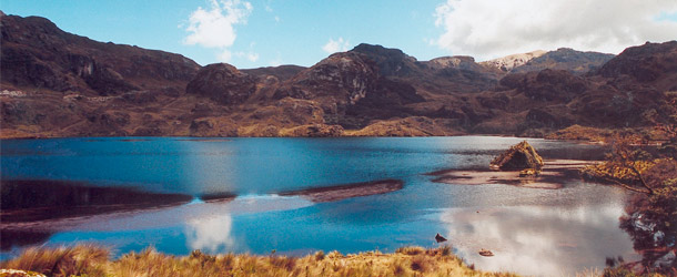 Students weekend trip to Parque Nacional Cajas with Yanapuma School