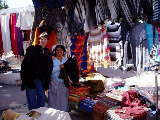 Exploring the andes with your own Spanish teacher is part of the fun in Ecuador