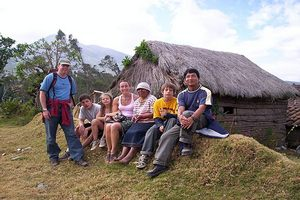 Learning about indigenous cultures in the Andes while studying Spanish with Yanapuma