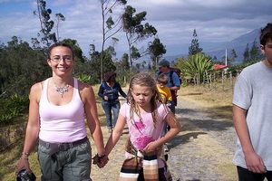 Study and Travel programs for families wanting to learn Spanish while they explore the Andes in Ecuador