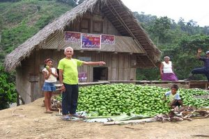 Learn about local farming in the coastal rainforest of Ecuador while you take a Spanish course with Yanapuma