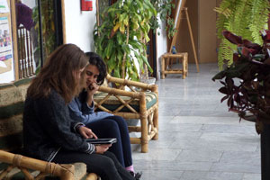 Individual Spanish classes in Quito at Yanapuma Spanish School