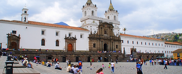 Visiting sites in Quito with a Spanish teacher in the afternoons is part of the program