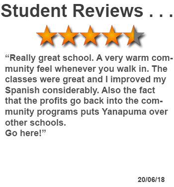 review of Spanish study course in Cuenca, Ecuador
