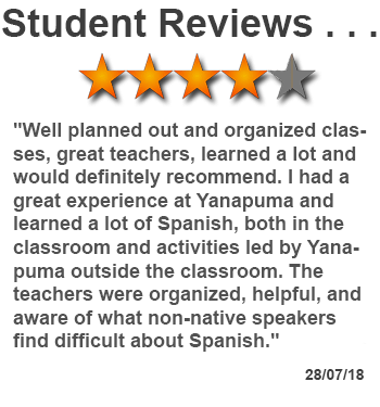 review of Spanish classes in Ecuador