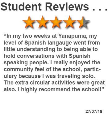 review of Spanish language course in Quito, Ecuador