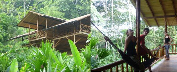 Suchipakari Lodge - Spanish classes while students explore the immense Amazon rainforest