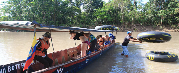 Students explore the Amazon region biodiversity and learn Spanish