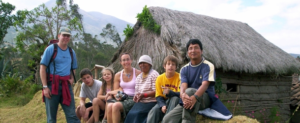 Study Spanish while you travel Ecuador with your own Spanish teacher - Amazon, Andes, Pacific coast and Galapagos Islands