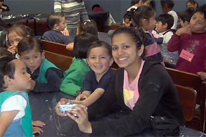 volunteer in Quito with children with learning difficulties and Spanish classes